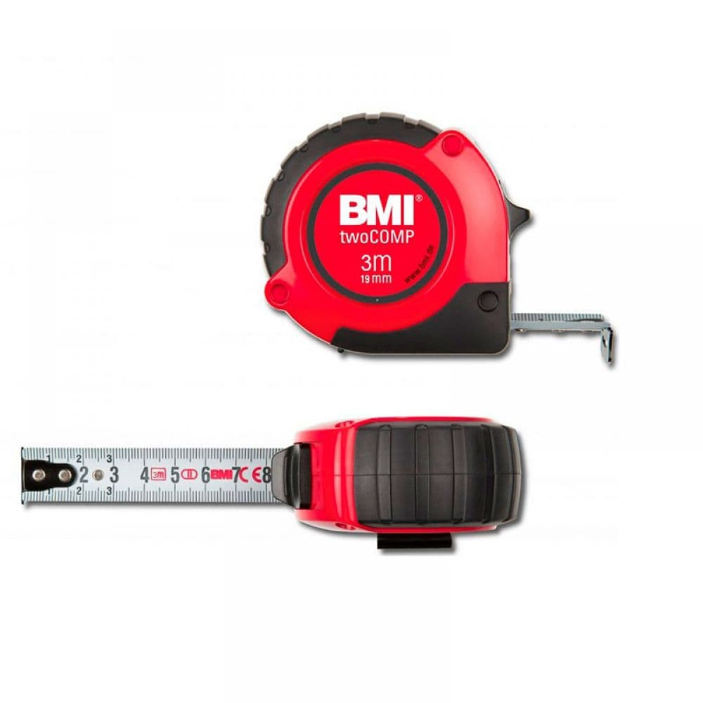 Рулетка BMI twoCOMP MAGNETIC 3 m